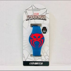 Spiderman 2099 led watch